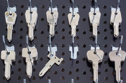 Ersatzschlüsselanfertigung vom Schlüsseldienst